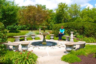 Garden at The Weber Center